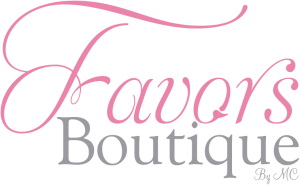 Favors Boutique recuerdos personalizados para todo tipo de eventos.
