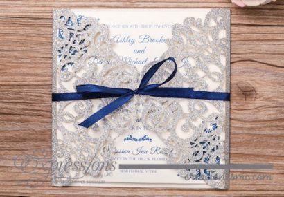 mod. ornamentos cuadrada papel brillante