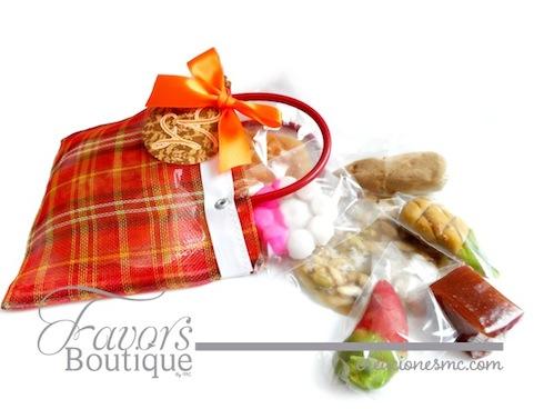 creaciones mc recuerdos boda bolsita con dulces regionales - Recuerdos Boda