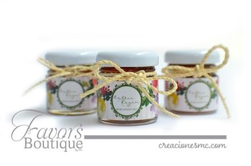 creaciones mc recuerdos boda frascos de miel personalizados - Recuerdos Boda