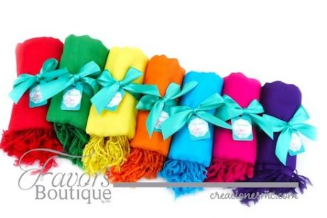 Pashimnas colores vibrantes