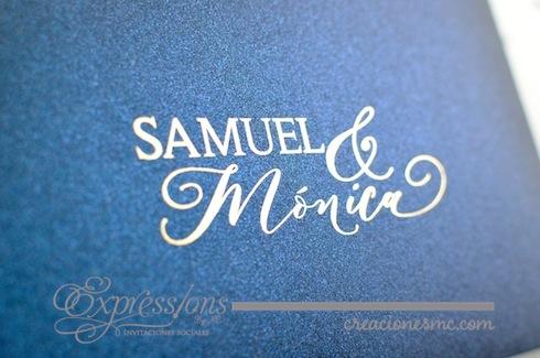 expressions invitaciones boda mod Samuel y Mónica - Invitaciones Boda