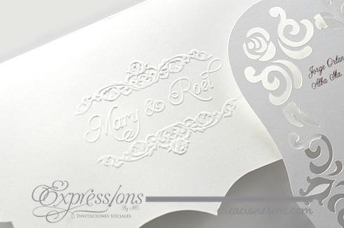 expressions invitaciones boda mod elegance - Invitaciones Boda