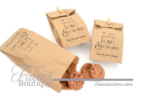 Recuerdos para boda personalizados Creaciones MC Favors Boutique frasco bolsas personalizadas - Recuerdos Boda