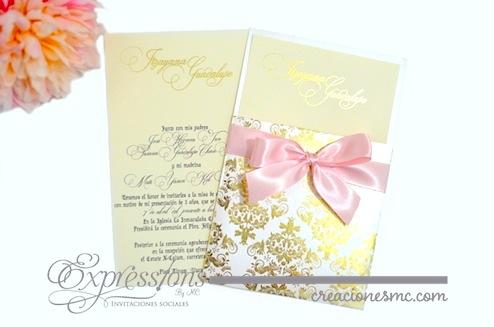 Expressions invitaciones bautizo Princess - Invitaciones Bautizo y Comunión