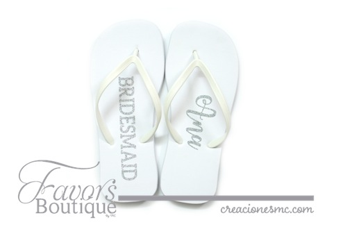 creaciones mc sandalias bridesmaide - Regalos para Bridesmaids