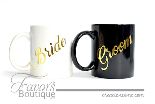 Tazas Bride and Groom