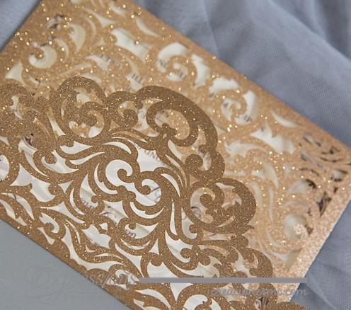 expressions invitaciones boda corte laser sobre calado2 - Invitaciones papel glitter