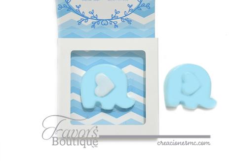 Creaciones mc jabones elefantito baby shower bautizo cumpleaños1 - Jabones